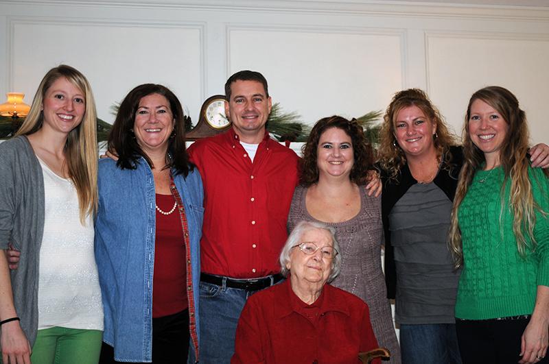 Valda Beavin and family